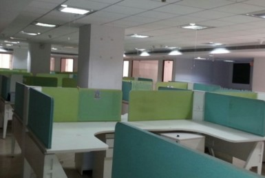 17,600 Sq Ft Furnished Office Space for Rent in MG Road