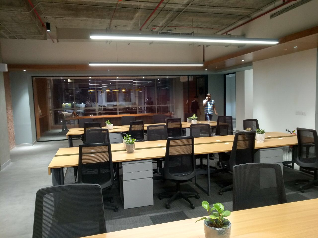 furnished managed office space